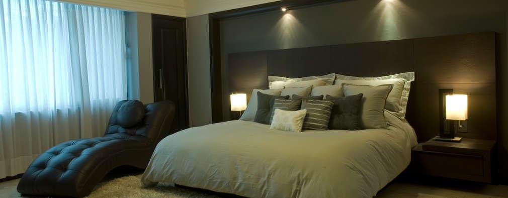 13 ideas sensacionales para iluminar las paredes con nichos - Iluminacion dormitorio moderno ...