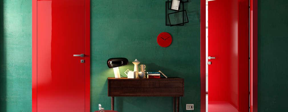 Progetti: Ingresso, Corridoio & Scale in stile in stile Moderno di info8258