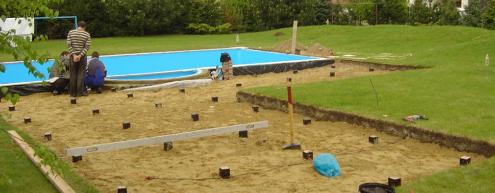 C mo construir una terraza de madera paso a paso for Como construir una piscina paso a paso