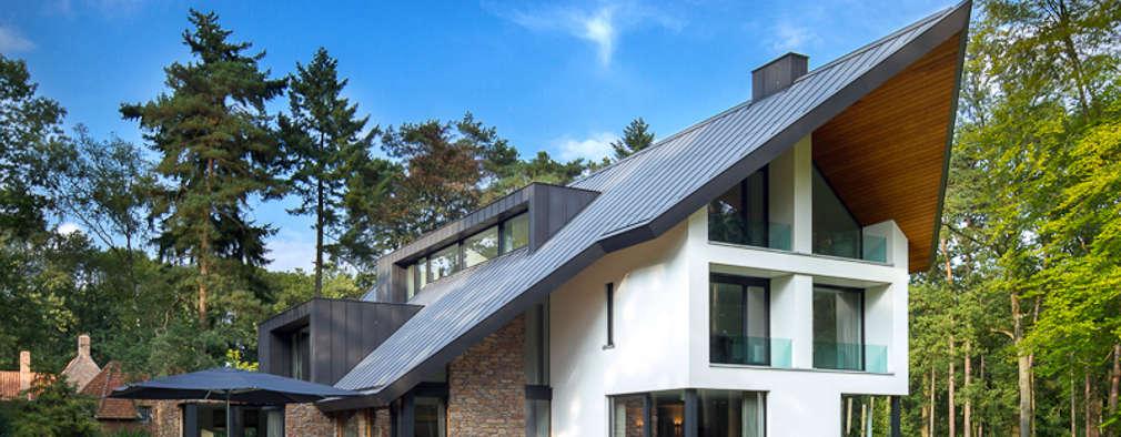 modern Houses by Van Oers Weijers Architecten BNA