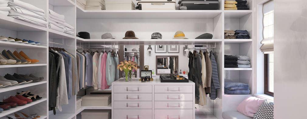 minimalistic Dressing room by Giovani Design Studio