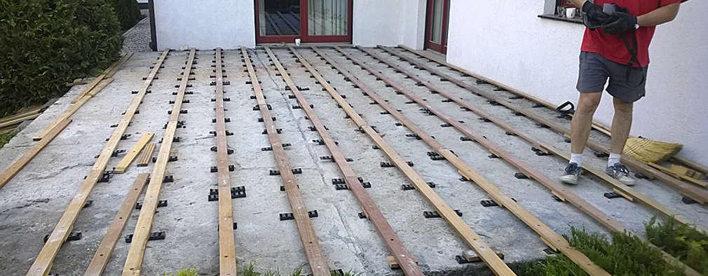 Paso A Paso Construyendo Un Deck De Madera Como Un