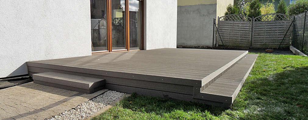 C mo instalar un suelo de madera en el jard n - Suelos de madera para jardin ...