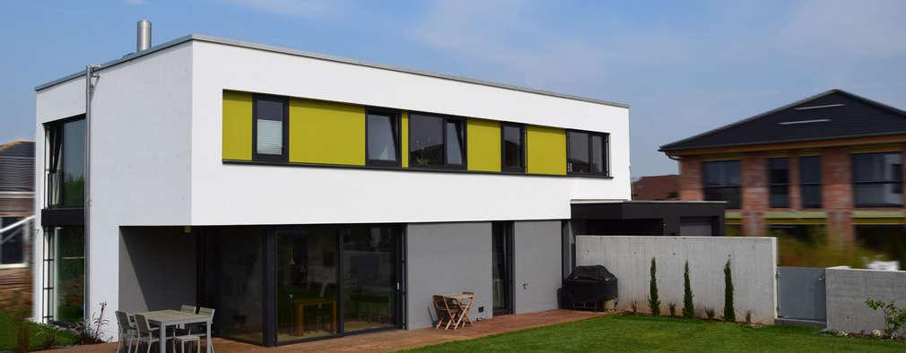 Een modern en fris huis - Moderne kleur huis ...