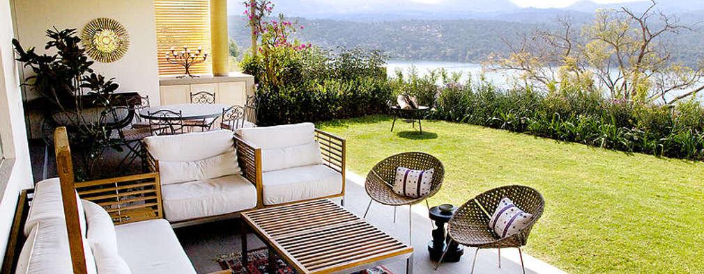 Terrasse de style  par A Mayúscula Arquitectos