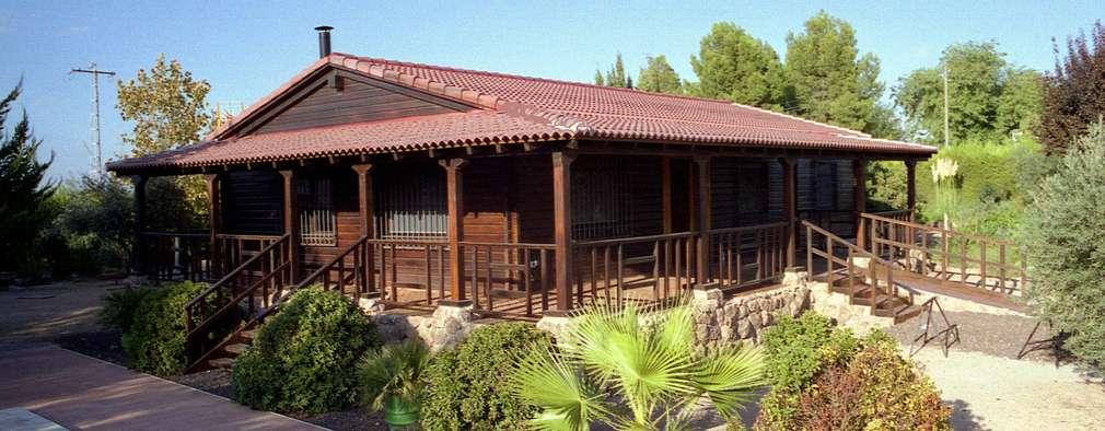 7 casas de madera perfectas para irse a vivir al campo - Fotos de casas de campo de madera ...