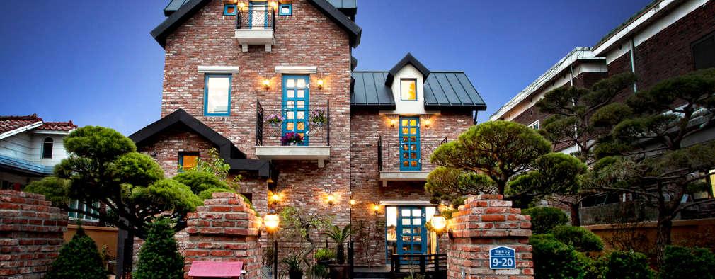 landelijke Huizen door 국민대학교