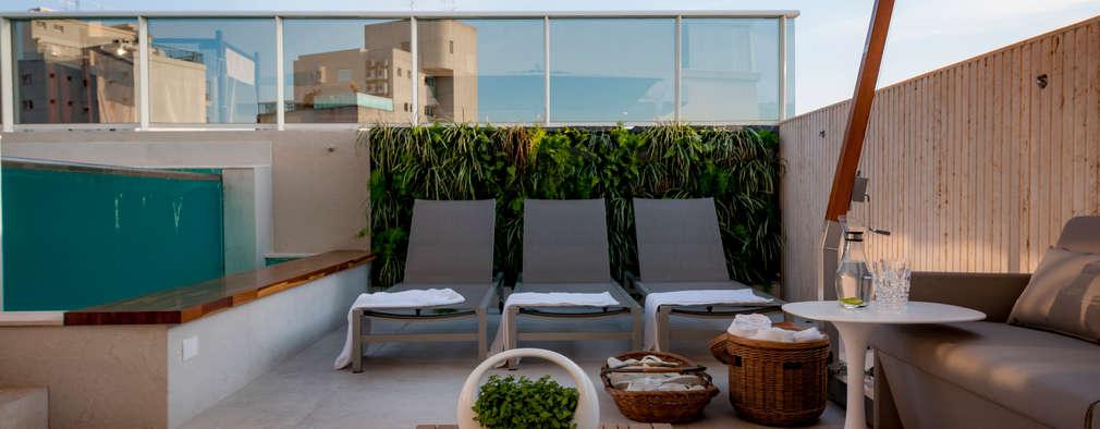 Projekty,  Taras zaprojektowane przez Wall Plant