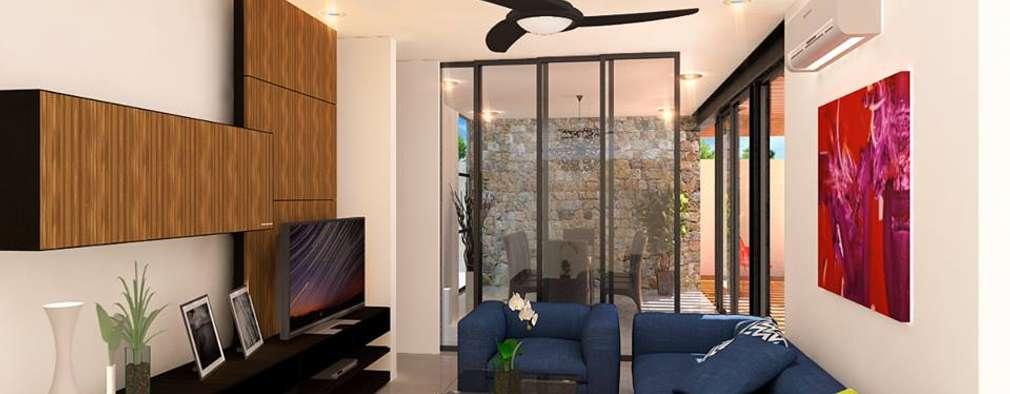 modern Living room by TOAR INGENIERIA Y DISEÑO