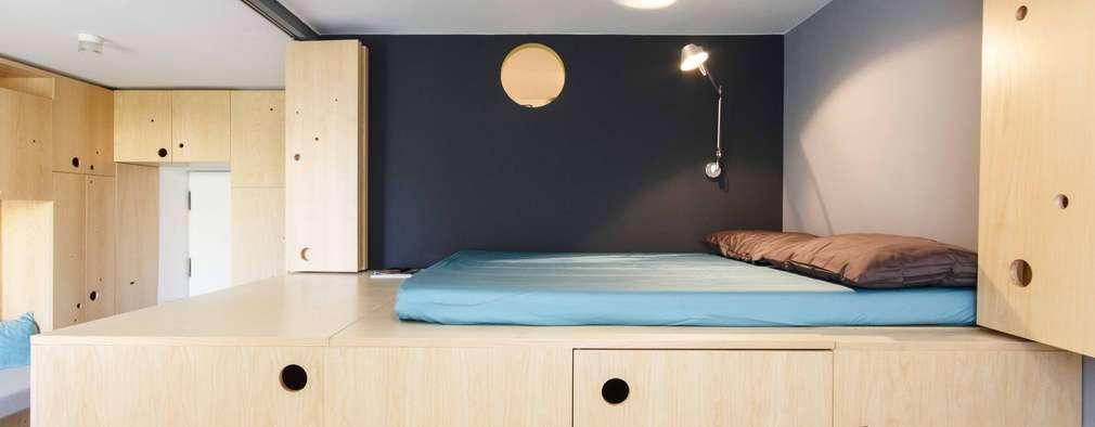 BRERA APARTMENT: Camera da letto in stile in stile Moderno di PLANAIR ®