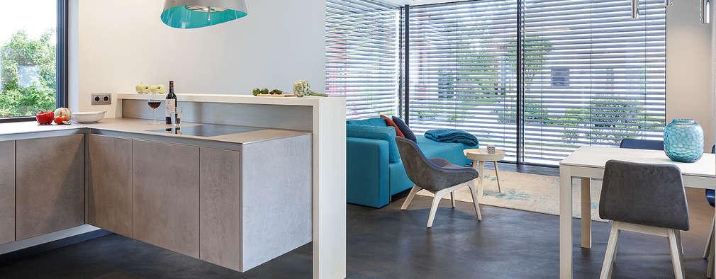 Cocinas de estilo moderno por Lopez-Fotodesign