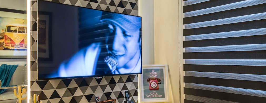 30 salas de televisión, ¡ideales para casas pequeñas!