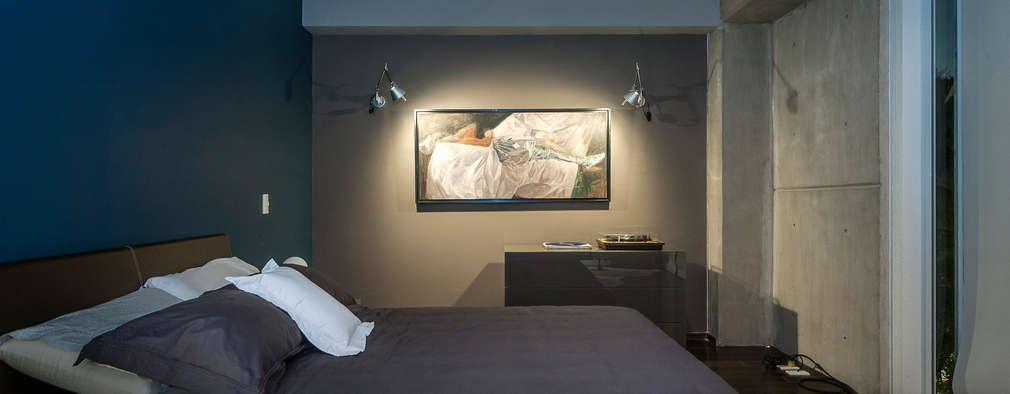 臥室 by MAAD arquitectura y diseño