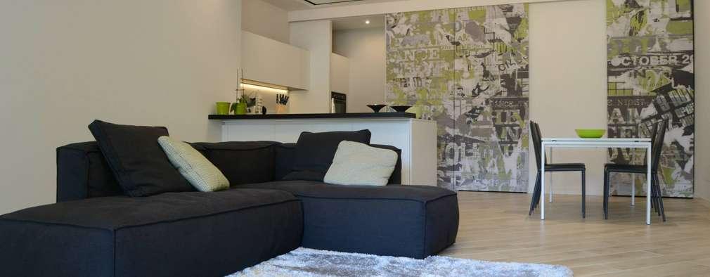 Salon de style de style Moderne par LTAB/LAB STUDIO