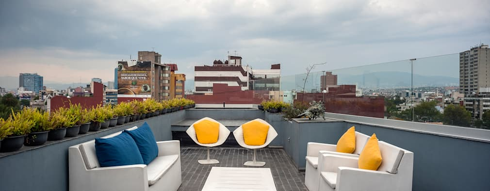 Terrace by MAAD arquitectura y diseño