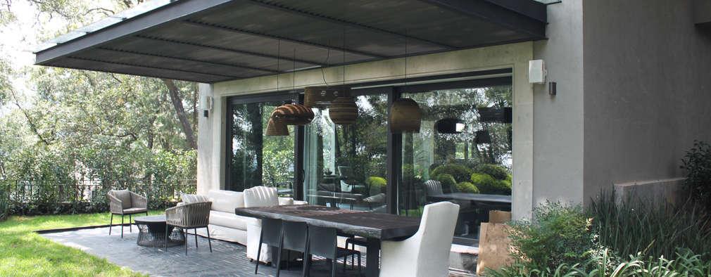 15 patios techados que te encantar n e inspirar n - Techado de terrazas ...