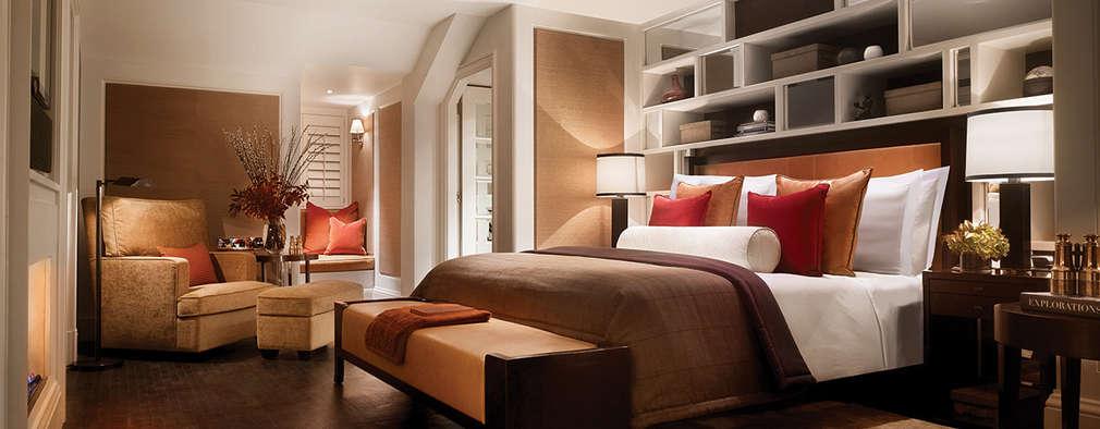 غرفة نوم تنفيذ Debbie Flevotomou Architects Ltd.