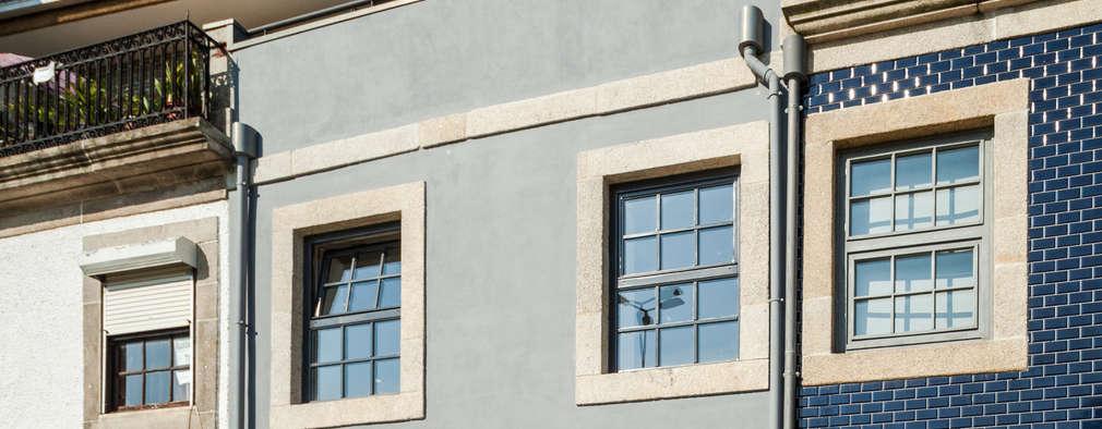 Casa Cedofeita: Habitações  por Floret Arquitectura