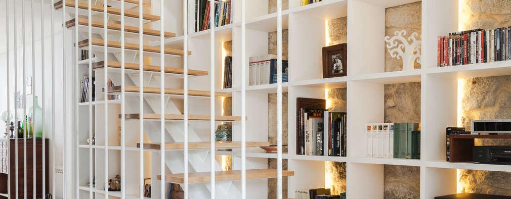 Corridor & hallway by Floret Arquitectura