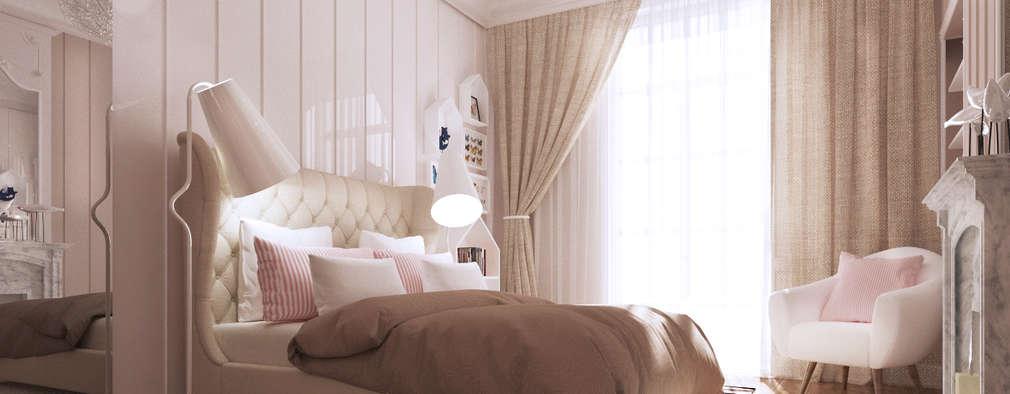 Beausoleil: Chambre d'enfant de style de style Méditerranéen par ZR-architects