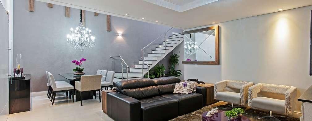 14 esempi d 39 illuminazione per trasformare la tua area living - Esempi di illuminazione a led per interni ...