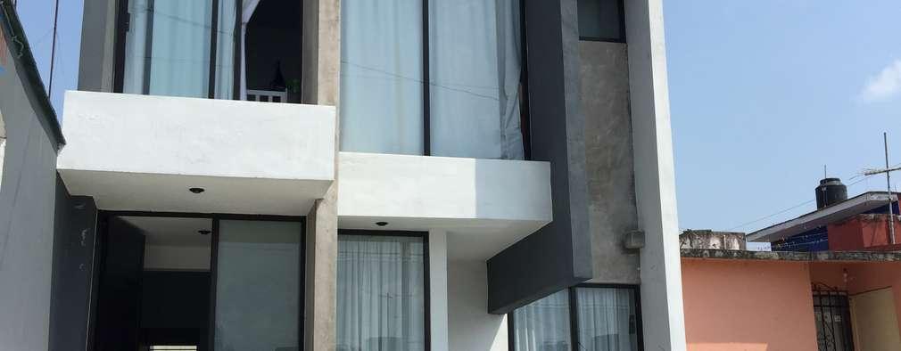 Casas de estilo moderno por Neutral Arquitectos