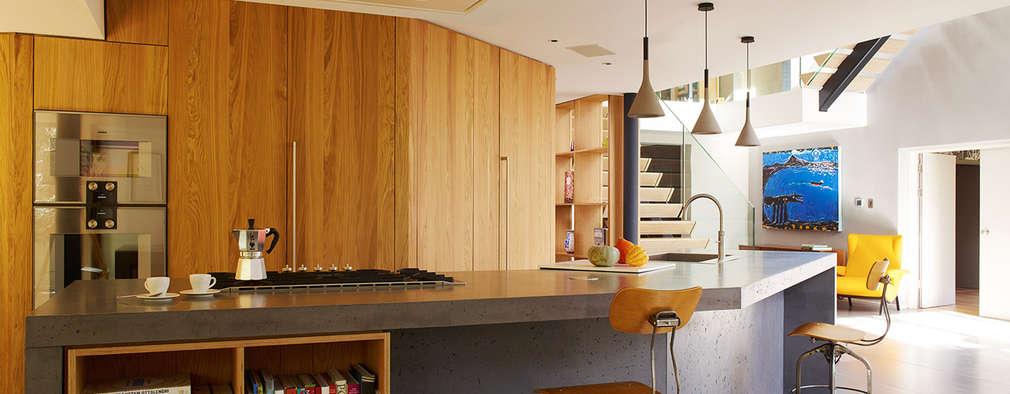 modern Kitchen by Concrete LCDA