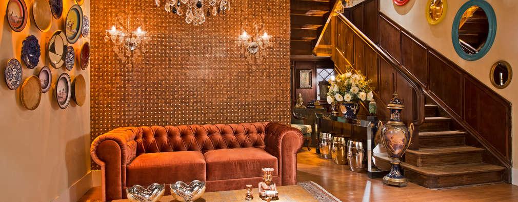 classic Living room by Estúdio Pantarolli Miranda - Arquitetura, Design e Arte