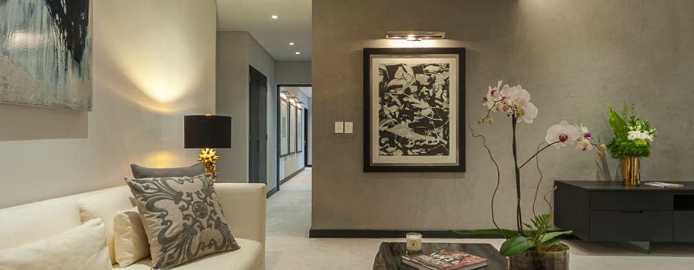 Projekty,  Sypialnia zaprojektowane przez HO arquitectura de interiores