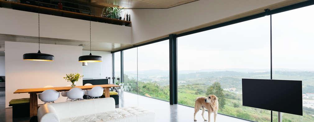 modern Living room by Atelier Data Lda
