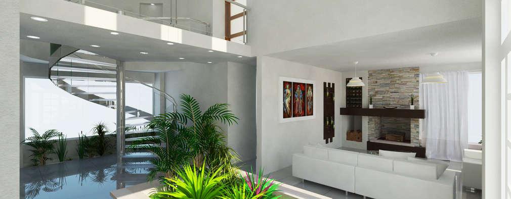 Koridor dan lorong by JRK Diseño - Studio Arquitectura