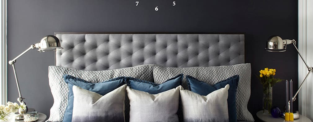 Projekty,  Sypialnia zaprojektowane przez ANNA DUVAL