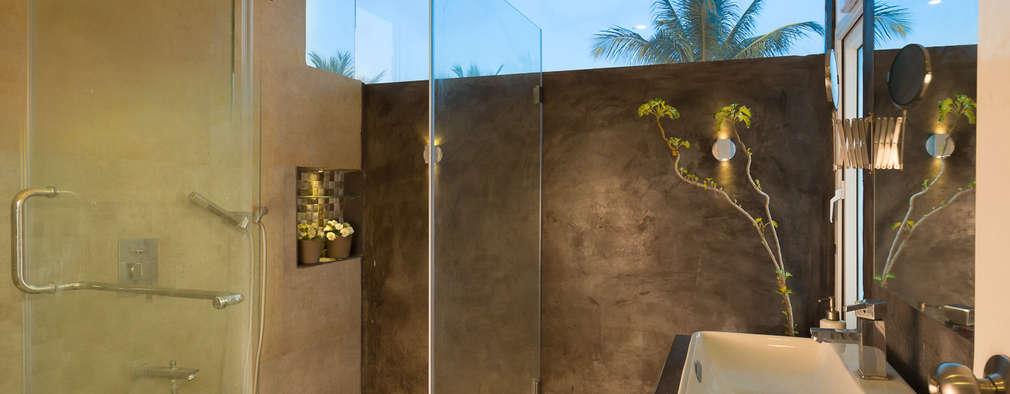 moderne Badkamer door Ink Architecture