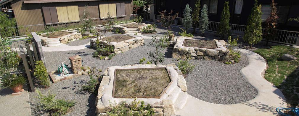 畑ノ庭 - 写真01: 平山庭店が手掛けた庭です。