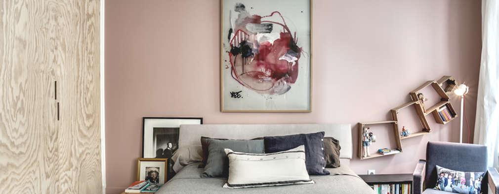 scandinavian Bedroom by cristina velani