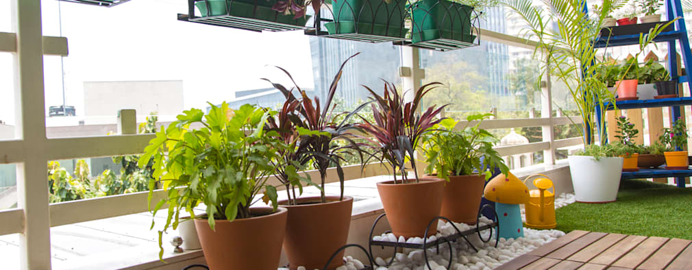 20 fotos de terrazas peque as renovadas con muy poco dinero for Fotos terrazas pequenas