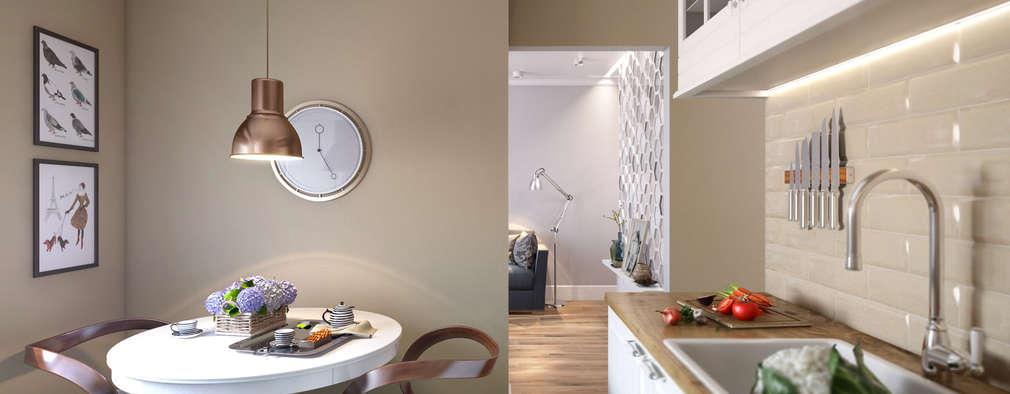 scandinavian Kitchen by CO:interior