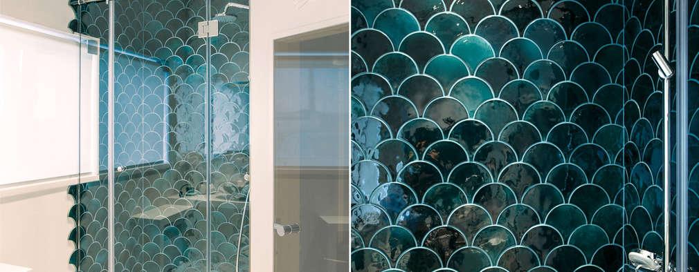 Projekty,  Łazienka zaprojektowane przez Yucubedesign