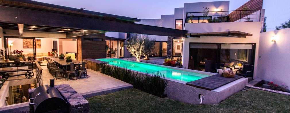 una casa moderna muy mexicana