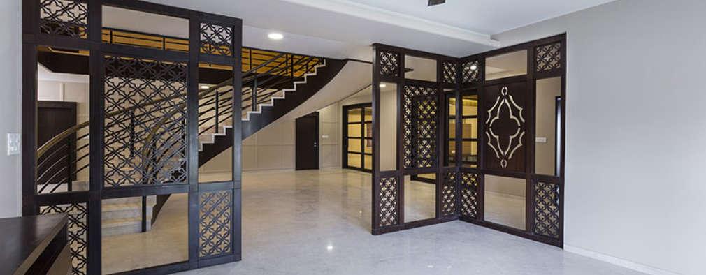 غرفة المعيشة تنفيذ Spaces and Design