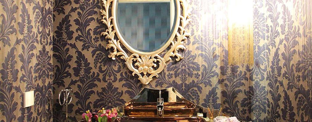 modern Bathroom by Orkun İndere Interiors