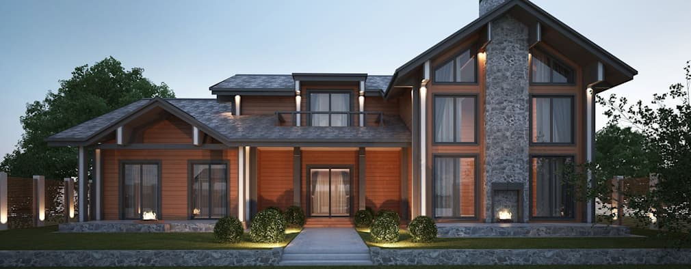 9 inspirational modern wooden houses