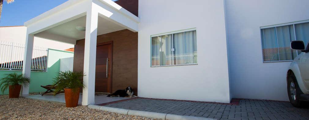 Nova fachada:   por Janete Krueger Arquitetura e Design