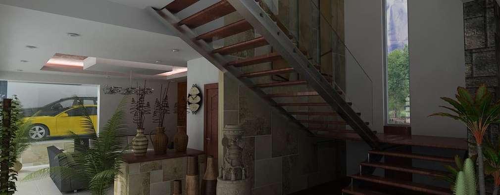 14 dise os de escaleras perfectas para casas peque as - Disenos de escaleras para casas ...