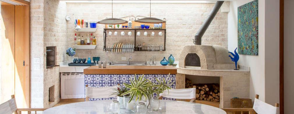 13 cocinas con horno de leña que querrás tener en tu casa