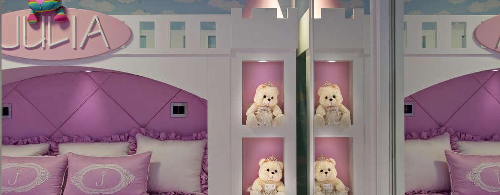 Детские комнаты в . Автор – Designer de Interiores e Paisagista Iara Kílaris