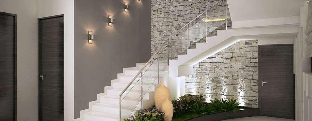 4 bedroom Villa at Prestige Glenwood:  Corridor & hallway by ACE INTERIORS
