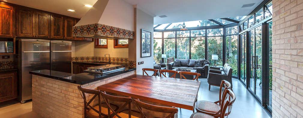 23 fotos de cocinas r sticas para copiarlas totalmente for Cocinas rusticas para patios