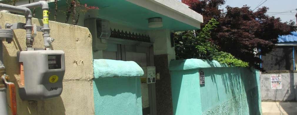 Casas de estilo moderno por 핸디디자인