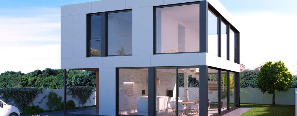 Casas prefabricadas homify for Casas prefabricadas modernas precios